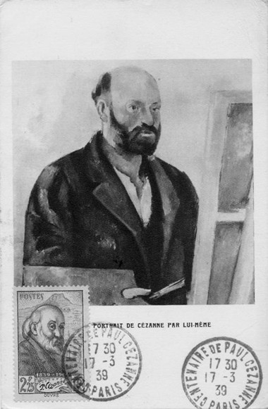Authentique CM de Cézanne.